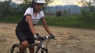 Jovana Ugarte talentosa ciclista luvianense