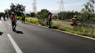 Reabren autopista México - Pirámides tras controlar fuga de hidrocarburo
