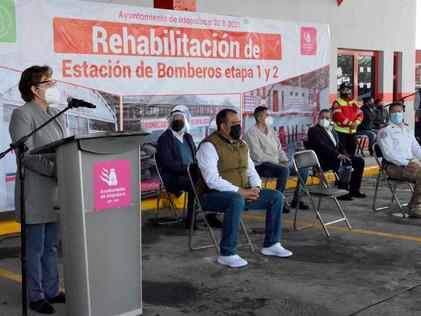 En marcha centro de llenado gratuito de tanques de oxígeno en Ixtapaluca