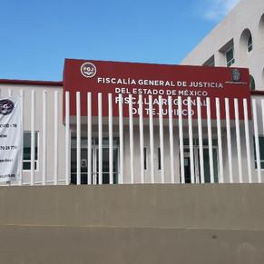 Por brote de COVID-19 Fiscalía Regional de Tejupilco cierra por 14 días