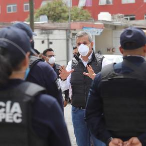 Dan de baja a 35 policias de Ecatepec por corrupción y otras faltas administrativas