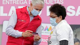Avanza Salario rosa en Edoméx; llega a manos de las amas de casa: Del Mazo