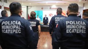 Mandan a estudiar a policía de Ecatepec; todos contarán con nivel bachillerato o superior