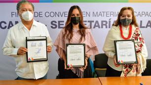 Capacitarán Secretarías de la Mujer y del Campo a las mexiquenses
