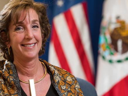 Designa Biden a Roberta Jacobson como coordinadora para la frontera con México