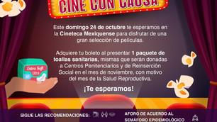 Ofrece Cineteca Mexiquense funciones con causa con motivo del Día Naranja
