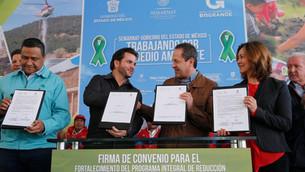 Recupera edoméx 50 mil hectáreas de bosque beneficio de los habitantes: EAV