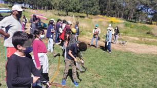Familias toluqueñas reciben con gusto la Escuela de Tiro con Arco