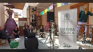 Todo listo para el Festival del Alfeñique en Toluca