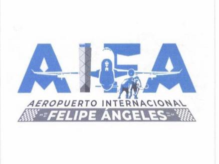 Cancelan logo de aeropuerto Felipe Ángeles con todo y mamut