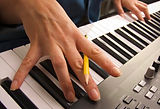 songwriting with keyboard