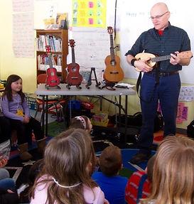 teaching ukulele to kids