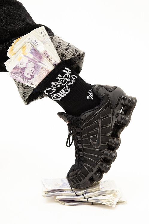 Cash Checks Socks (2 Pack)