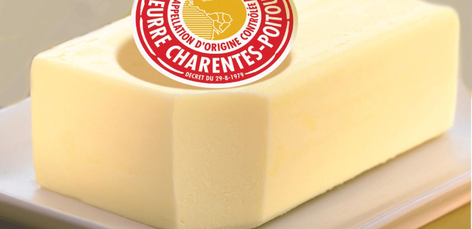 Beurre Charentes-Poitou (c)ACLC - IRQUA.