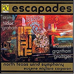 Escapades CD North Texas Wind Sympony Corporon percussion