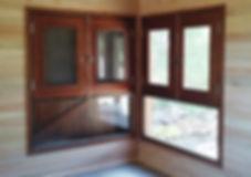 abeturas de alta calidad en madera de cedro