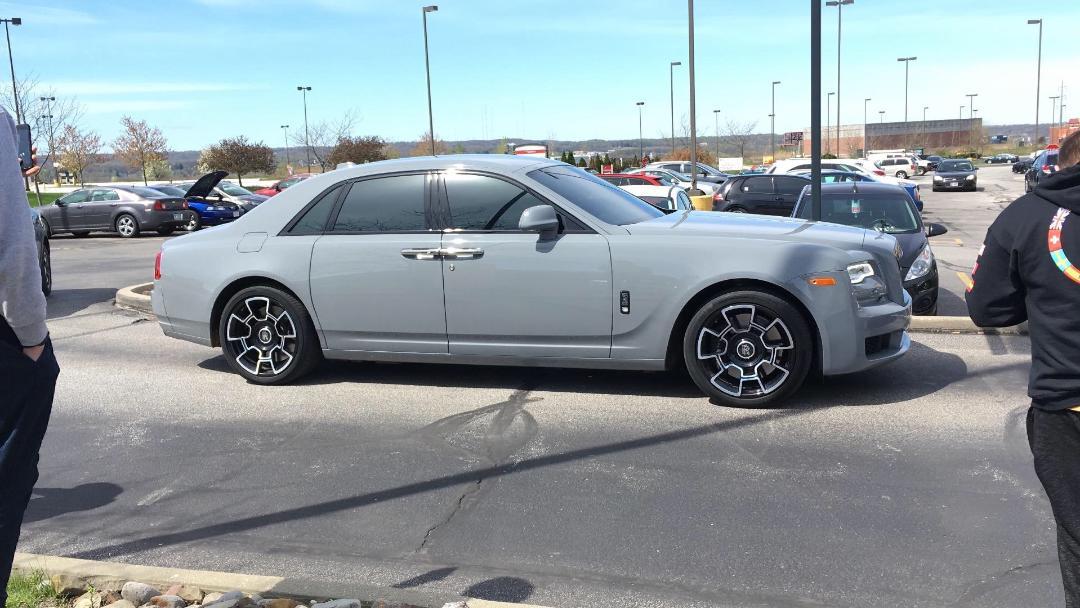 Nardo Grey Rolls Royce Ghost