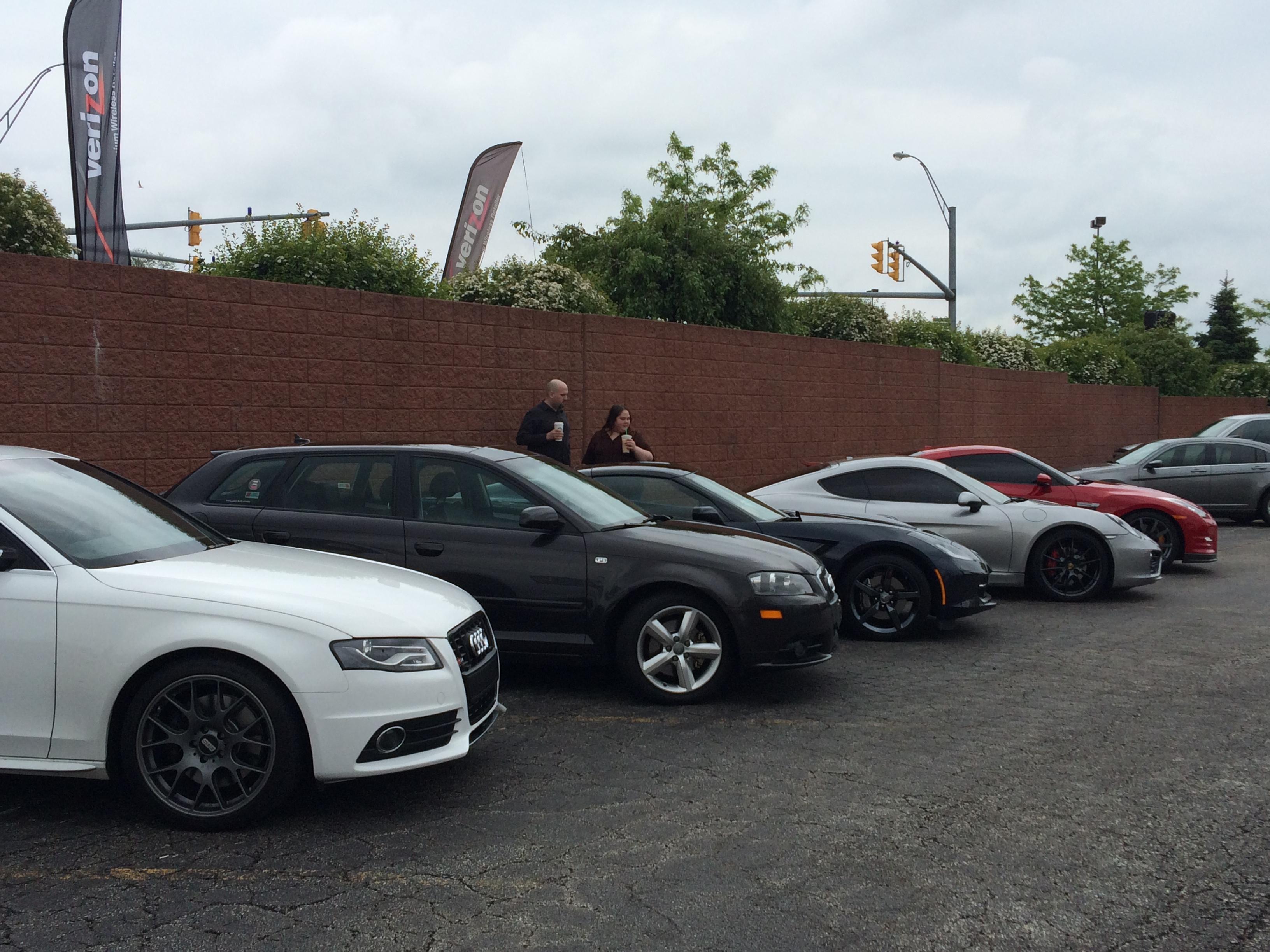 Audi and Porsche