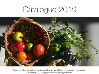 Le catalogue est en ligne