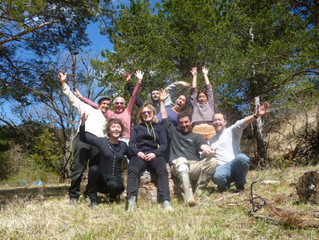 La nouvelle équipe des Jardins Nourriciers