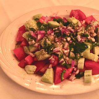 Tomato Onion Cucumber Salad