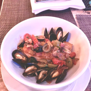 Swordfish and Mussel Stew