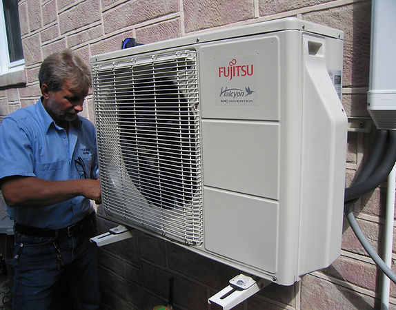 Fujitsu mini split air conditioning and heat