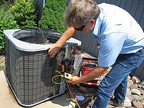 reliable service for AC and heat