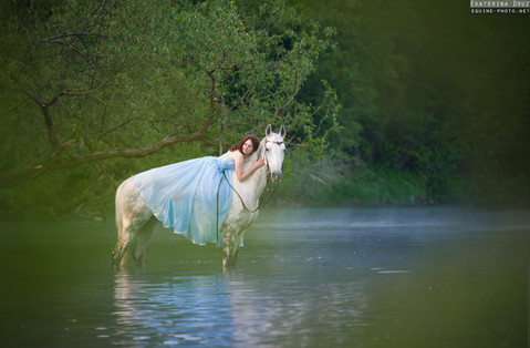 MERMAID AND HER HORSE
