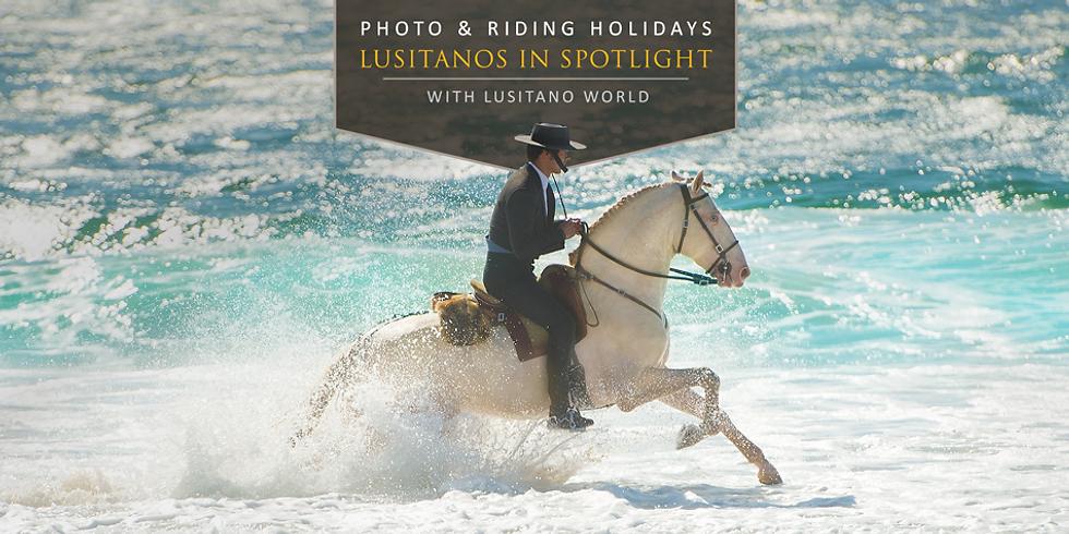 "Equine photo workshop ""Lusitano in Spotlight"""