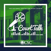 Court Talk is a podcast from the National Center for State Courts, which focuses on the intersection between courts and current events.Tune in each month as we bring you a new episode on the latest happenings in courts.