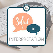 Conversations about professional interpretation with the best in the field.