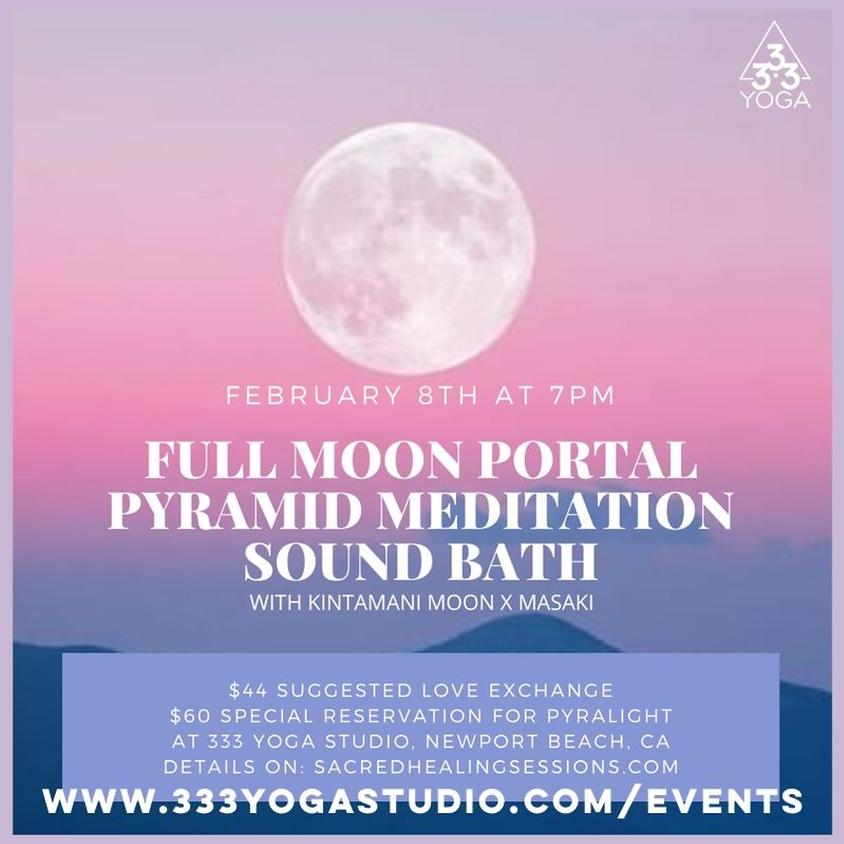 Full Moon Portal Pyramid Meditation + Sound Bath