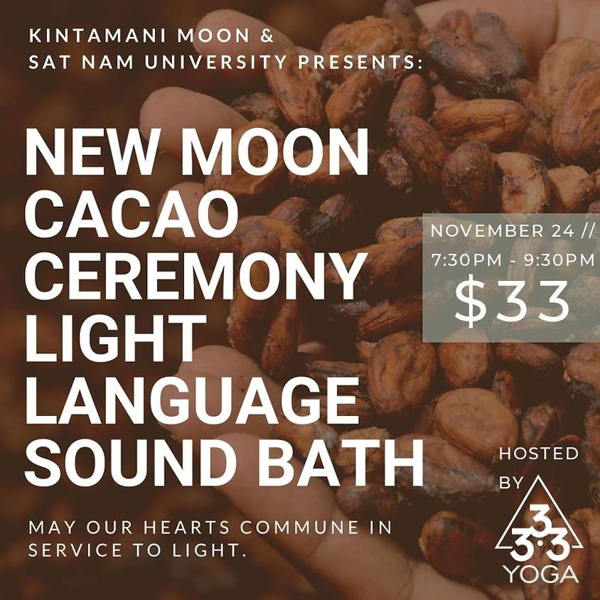 Cacao Ceremony Light Language Activation Sound Bath