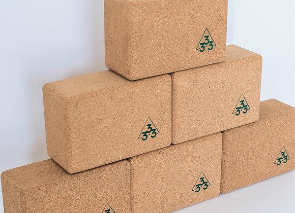 333 Cork Yoga Block