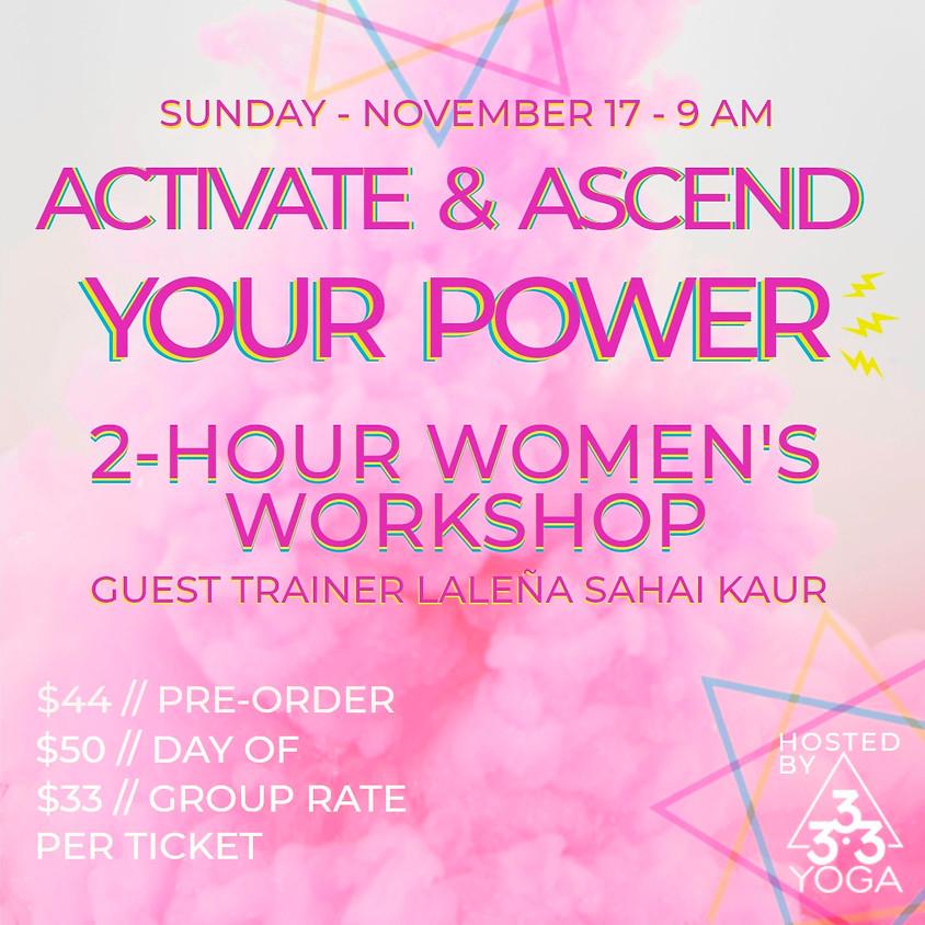 Activate + Ascend your Divine Feminine Energy
