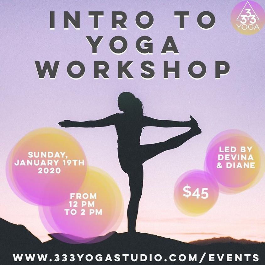 Intro to Yoga 2H Workshop