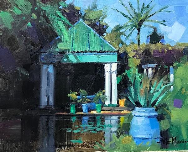 majorelle gardens 8_x11_. oil.jpg