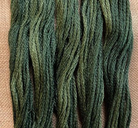 Spinach Classic Colorworks Cotton Threads 5-yard Skein