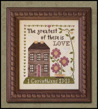 CATS First Corinthians by Little House Needleworks