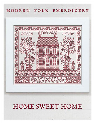 Home Sweet Home by Modern Folk Embroidery