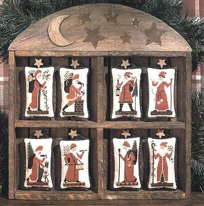 Old World Santas by The Prairie Schooler