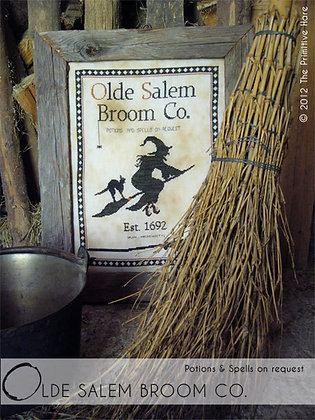 Olde Salem Broom Company by The Primitive Hare