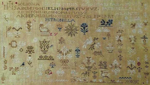 Patronilla Arandes 1834 by Needlework Press