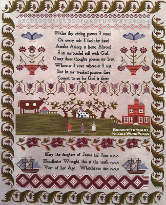 Mary McCallester by Needlework Press