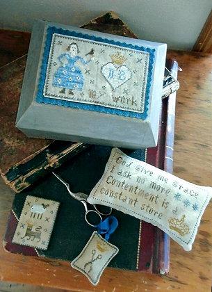 *Nettie Brown's Work Box by Chessie & Me