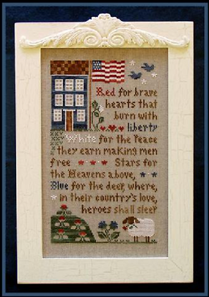 Brave Hearts by Little House Needleworks