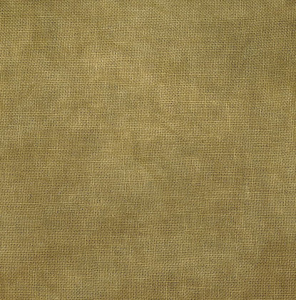 40 Count Old Gold Fat Quarter Hand-Dyed Linen by Fiber on a Whi