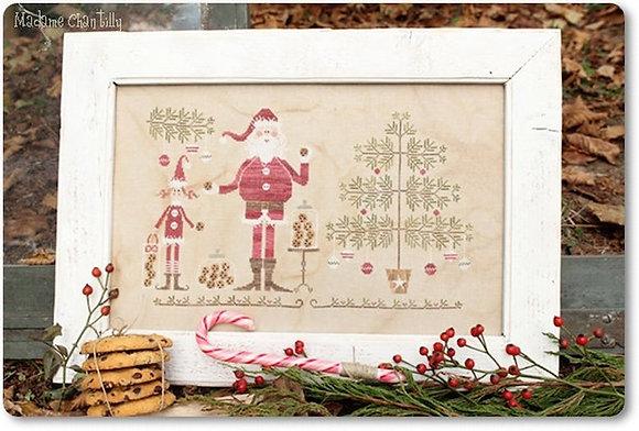 Santa's Cookies by Madame Chantilly