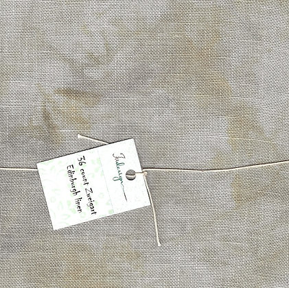 40 Count Grey Sand Fat Quarter Hand-Dyed Linen by xJudesign